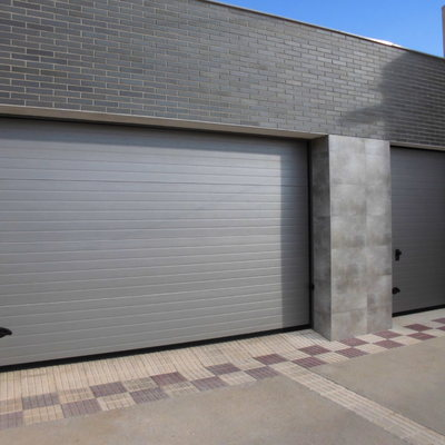 Panel acanalado rugoso ral 9007 gris oscuro