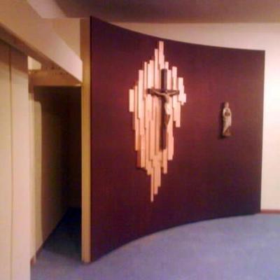 Panel con cruz