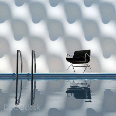 panel piscina