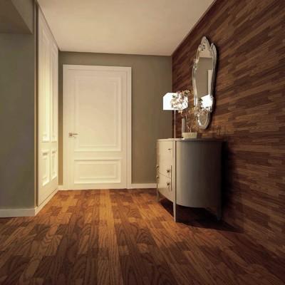 Panelados pared y tatima suelo