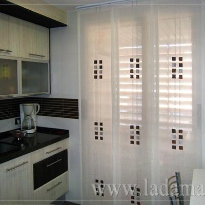Presupuesto cortinas paneles japoneses en barcelona online - Paneles para cocina ...