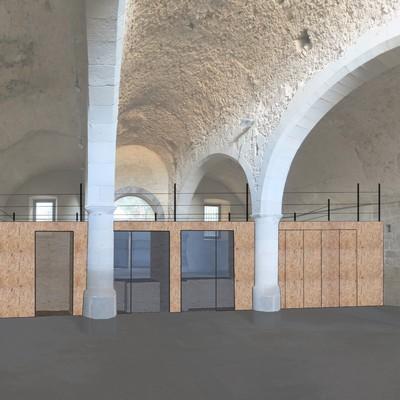 Laboratiorio cultural en la Capilla Santa Llúcia en Griona
