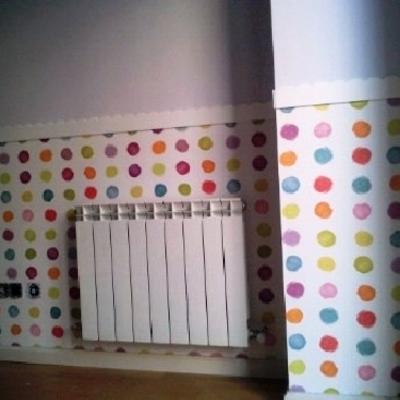 papel pintado habitacion niños