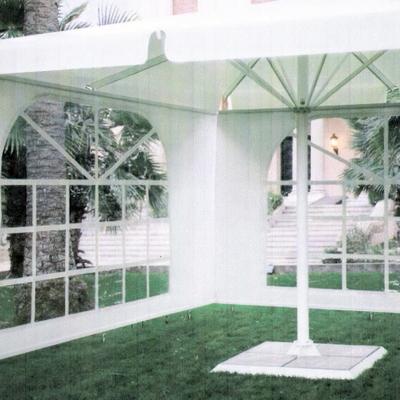 Parasol con laterales