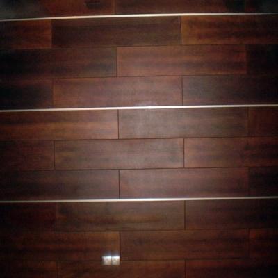 pared de madera