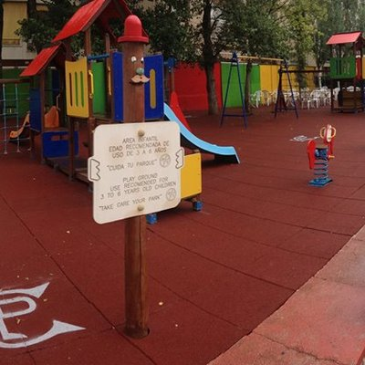 PARQUE INFANTIL HOTEL CANADA PALACE CALAFELL