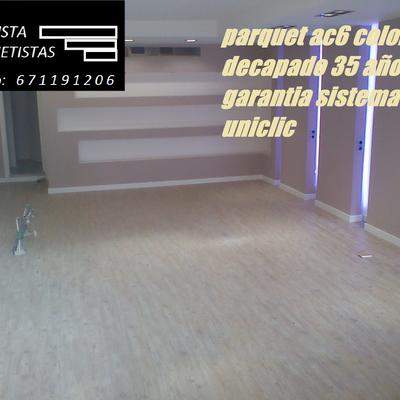 PARQUET AC6 100X100 RESITENETE AL AGUA