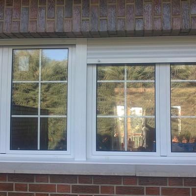Parte Exterior de ventana con rotura de puente termico