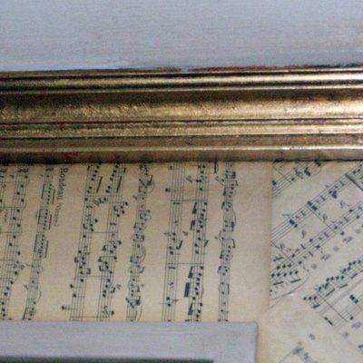 partituras envegecidas