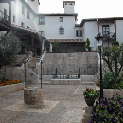 Patio de hotel en Chinchon