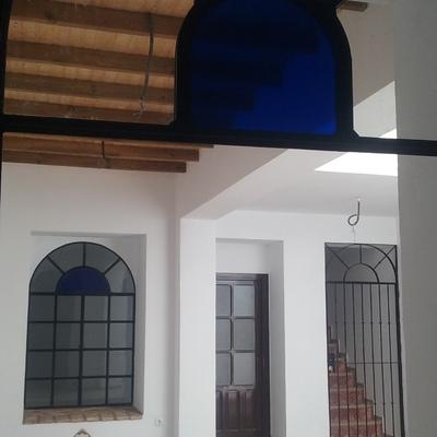 Vista paredes y techo patio