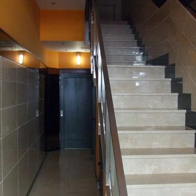 Patio y escaleras reformados
