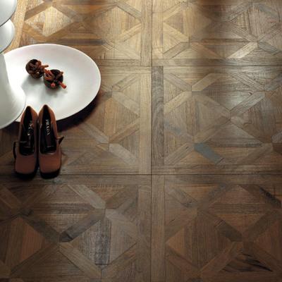 Pavimento artesanal madera-madera