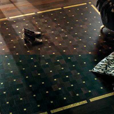 Pavimento artesanal mosáico