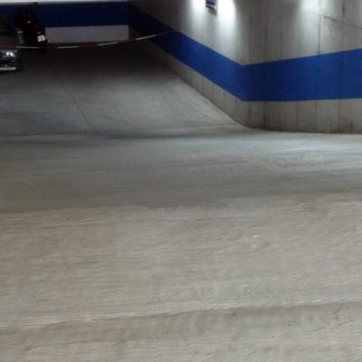 Pavimento continuo para parking