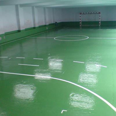 Pavimento deportivo interior