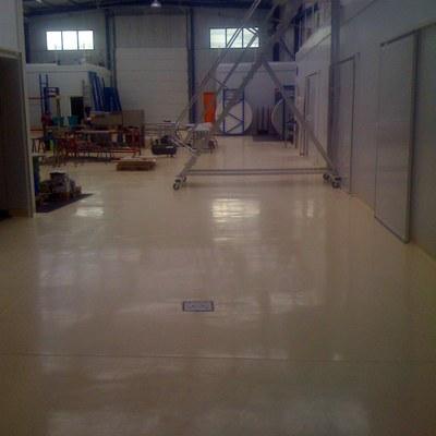 Pavimento Industrial con Pavipol-Flex