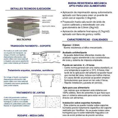 pavimento multicapas epoxi - FICHA TECNICA