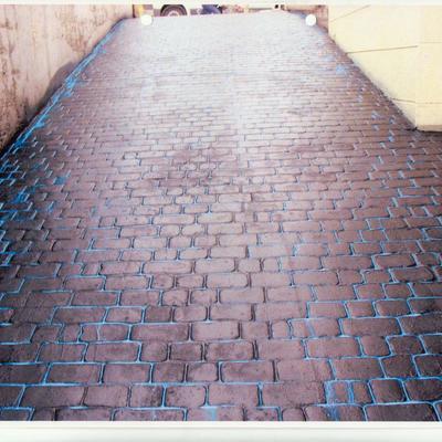 pavimentos impreso adoquin recto