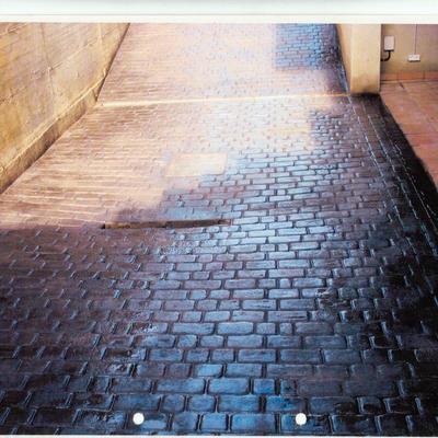 pavimentos impresode adoqui recto
