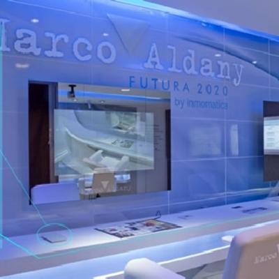 Peluquería del Futuro de Marco Aldany