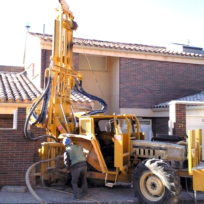 Perforacion geotermica