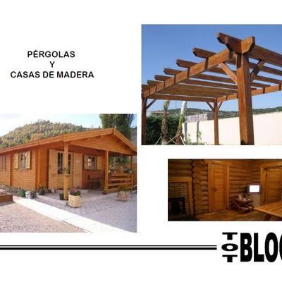 Pérgolas y casas de madera