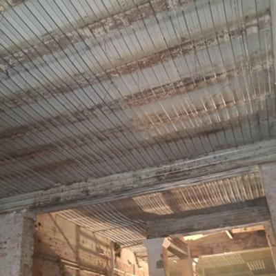 Instalación de Malla Nervometal sobre techo