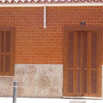 Persinas mallorquinas color madera
