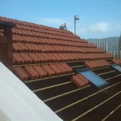 tejados con rastrel