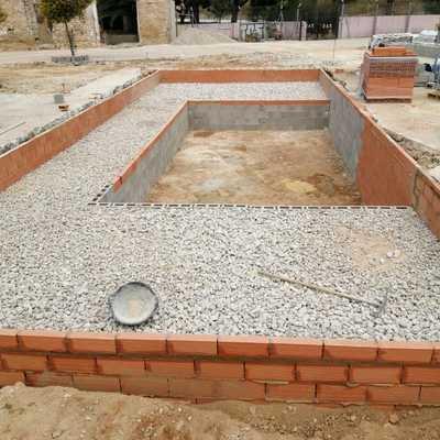 Encofrado de piscina alberca en Valencia