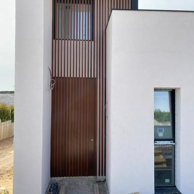 fachada vivienda unifamiliar