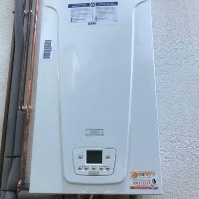 Caldera de Condensación Baxi para Calefacción de Gas Natural