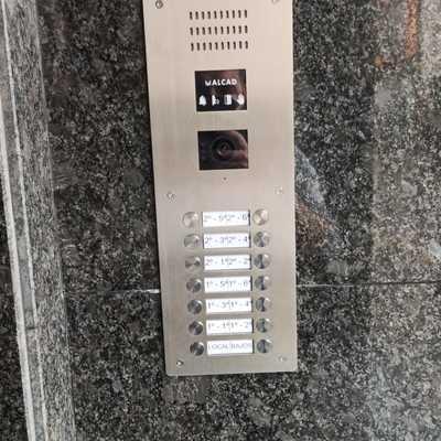 Instalación Interfono Alcad comunitario
