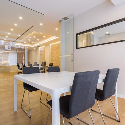 Sala de juntas en oficina