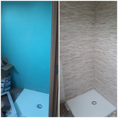 Plato de ducha baño