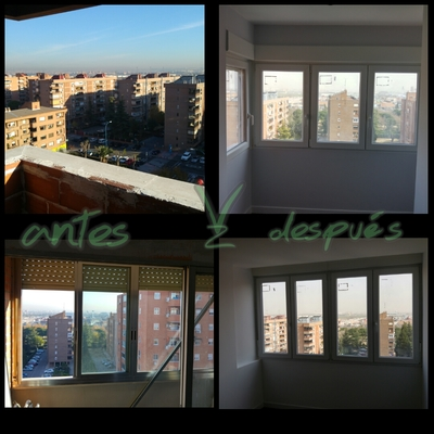 Sustitución de ventanas en Zarzaquemada rf Fran