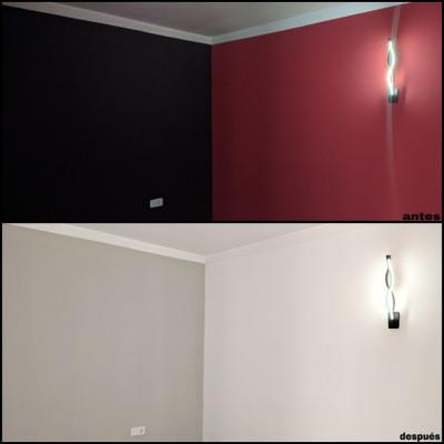 Pintura en una habitación