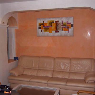 stucco veneciano en salon