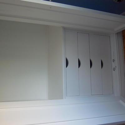 Lacado de armarios.