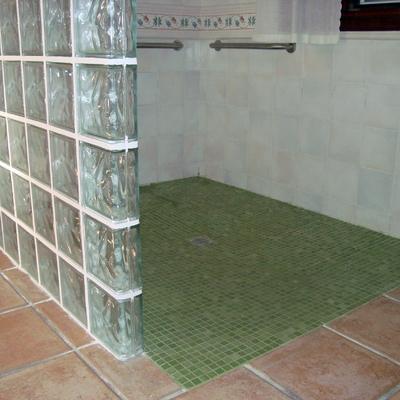 Pie de ducha