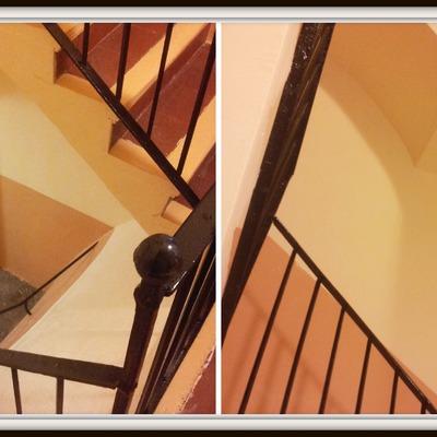 Pintado de escalera.