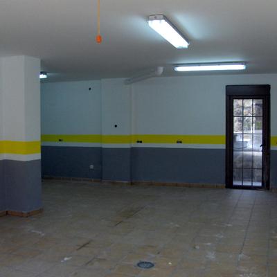 pintado de garaje
