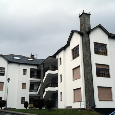 pintado fachada edificio 14 viviendas