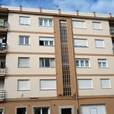 pintado fachadas de urbanizacion