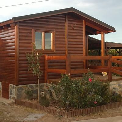 Pintar casa de madera