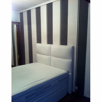 Pintura de dormitorio a rayas