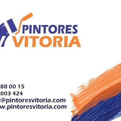 tarjeta de presentación Pintores Vitoria