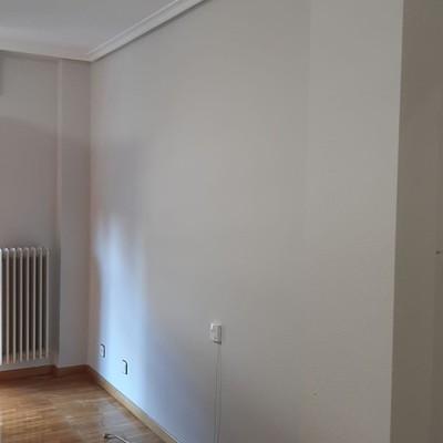 Pintura de piso completa en Vitoria