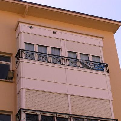 Pintura de miradores. Pintura de fachadas